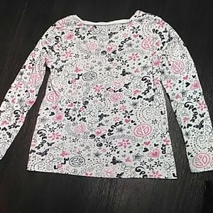 Old Navy Shirts & Tops - NEW LIST Girls long sleeve v neck tee.  Size 8